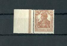 Deutsches Reich Nr.103c ** Randstück bestgeprüft BPP ME 70,-++ !! (124701)