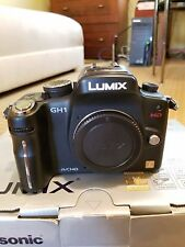 Panasonic Lumix GH1 HACKED VIDEO Excellent Condition Lots of Accessories