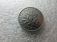 France 1961 Coin, 1 Franc - The Seed Sower - Nice Heritage Item