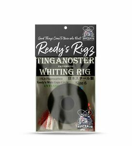 3x Tinganoster Whiting Rig UV Size 6 Paternoster Rig| Running Rig Reedy's