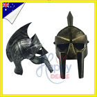Roman Viking Helmet Spartan Gladiator Bronze Armour Knight Party Hat Costume