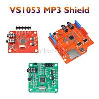 VS1053B VS1053 MP3 Shield Board Module w/ TF/SD Card Slot IC For Arduino UNO R3