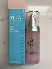 Tula Skincare Acne Clearing + Tone Correcting Gel 1.0oz / 30ml New New In Box