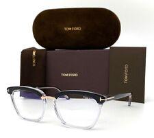 Tom Ford FT5550 005 Black Krystal  / Blue Block 54mm Eyeglasses TF5550-B