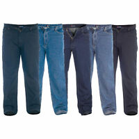 Mens Denim Stretch Comfort Jeans By Rockford Duke Big King Size