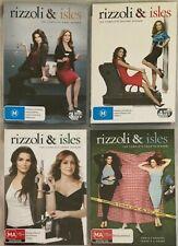 Rizzoli & Isles : Seasons 1 2 3 & 4 (DVD, 14-Disc Set)   BRAND NEW