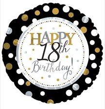 "Happy 18th Birthday 18"" Balloon Birthday Party Decorations"