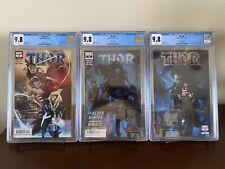 Thor 4, 5, and 6 Black Winter Keys Set of 3 CGC 9.8s