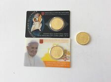Vatican 2 Coincards 7 & 8 + 50 Cent. 2015