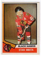 1X STAN MIKITA 1974 75 O Pee Chee #20 EXMT Chicago Black Hawks OPC