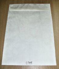 20 TYVEK E4 WHITE GUSSET ENVELOPES STRONG TEARPROOF PEEL SEAL 305x406x50mm 11846