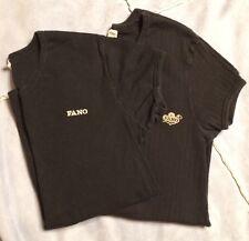 Lot of 2 Men's Fano T-shirts Black