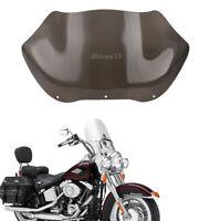 13'' Bulle moto Pare-Brise Vent Déflecteur Pour Harley FLHT FLHTC Glide Touring