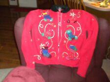 DESIGNER STUDIOS ORIGINAL Womens Ugly Christmas Sweater  Large