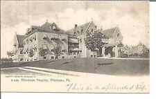 (M) A 6084 Allentown Hospital, Allentown, Pa. 10/19/1906