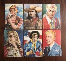 Set 6 Cartoline / Intrepido Classic Club - Universo 1995
