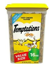 Temptations Cat Treats, Tasty Chicken Flavor, 16 Oz Tub