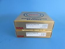 Nsk 60bnr10stynsulp4 Abec 7 High Speed Spindle Bearings Matched Set Of 2