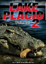 Lake Placid 2 Unrated (DVD, 2007) Professionally Resealed in Plastic LIKE NEW