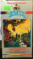Greatest Adventure Stories From the Bible-The Creation (VHS) Rare Hanna-Barbera