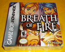 BREATH OF FIRE Game Boy Advance Gba Versione Americana ○○○○○ NUOVO SIGILLATO