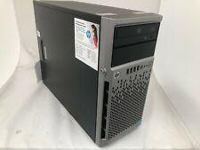 HP ProLiant ML310e Gen8 V2 Intel(R) Xeon(R) CPU E3-1240 V3 @3.40GHz 8GB No HD