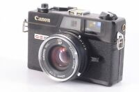 """""""AS IS"""" Canon Canonet G-III QL17 Black 35mm Rangefinder Film Camera From JP 6339"""
