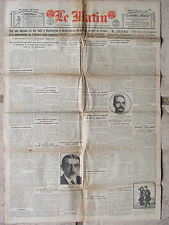 LE MATIN (6/12/1921) Alliance anglo-japonaise - Voleuse d'enfants - Irlande
