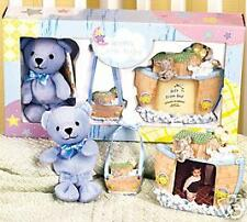 Noah's Ark Little Angel Gift Set/Blue - NEW