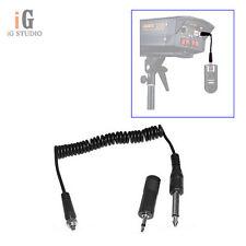Yongnuo Conector/Cable de sincronización para Yongnuo RF603 YN-622 y luces estroboscópicas studio Flash/