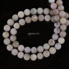 """15.8"""" Pink Peruvian Opal Round Beads 6mm #76200"""