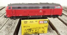Brawa 0389 Locomotora Diésel Br 216 144-6 De La DB Ag Epoche 5/6 , 3-Leiter AC