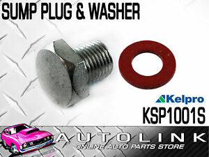 """KELPRO SUMP PLUG & WASHER 1/2"""" - 20 FOR FORD FALCON XF UTE 6CYL 200 & 250"""
