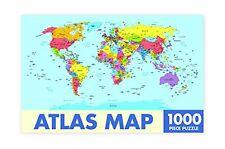 mapa atlas Rompecabezas de 1000 piezas 750mm x 500mm ( RF)
