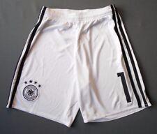 4.9/5 GERMANY #1 ORIGINAL FOOTBALL SHORTS SOCCER ADIDAS AA0145 BOYS 11-12 YEARS