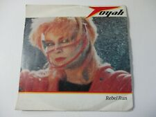 "TOYAH - REBEL RUN / TO THE MOUNTAINS HIGH - 7"" SINGLE - PICTURE SLEEVE"