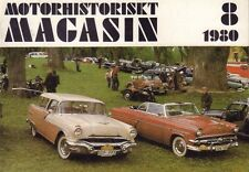Motorhistoriskt Magasin Swedish Car Magazine 8 1980 Seniorloppet 032717nonDBE
