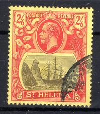 St Helena 2/6 KGV  fine used 1922-37 [S906]