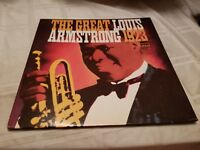 LOUIS ARMSTRONG ‎– The Great Louis Armstrong 1923 Vinyl Record LP - Orpheum Jazz