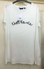 BNWT Dorothy Perkins Curve Ivory Top Size 18
