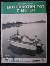 De Alk Book Motorboten tot 7 meter Peter de Graaf (Nederlands) #113