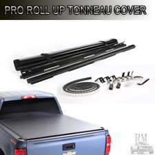 Lock & Soft Roll Up Tonneau Cover Fit 2005-2019 Nissan Frontier 6 FT Short Bed