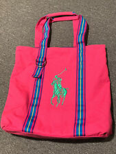 7a64be353158 Polo Ralph Lauren Fragrances Big Pony Tote Bag Embroidered promo carry hand