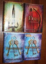 Graceling, Fire and Bitterblue by Kristin Cashore          Signed/1st+ARC signed