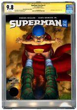 CGC SS 9.8 SUPERMAN: YEAR ONE #1 LIMITED JOHN ROMITA JR CONVENTION VARIANT