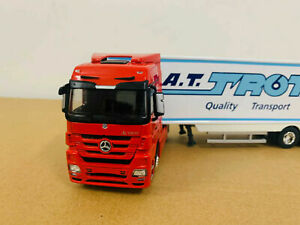 Mercedes-Benz A.T.Trota S.A. Container Truck Model 1/50 Metal Model New in Box