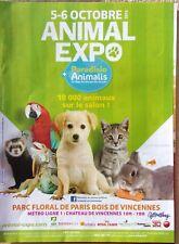 page de publicite  ANIMAL EXPO avec chat     en 2013    ref. 53555