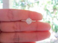 .80 Carat Face Illusion Diamond Twotone Engagement Ring 18k sepvergara