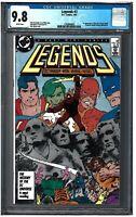LEGENDS #3 CGC 9.8 (1/87) DC Comics white pages