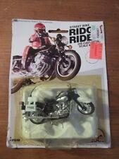 VINTAGE STREET BIKE RIDGE RIDER Die-cast METAL HARLEY-DAVIDSON POLICE MOTORCYCLE